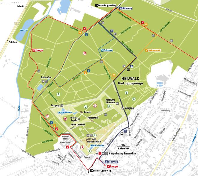 Plan Gelände Heilwald